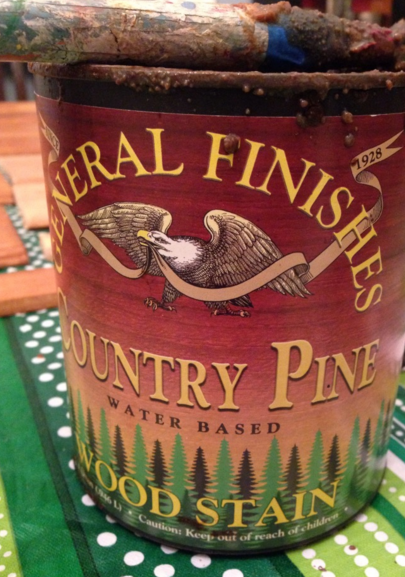 General Finishes Country Pine Stain