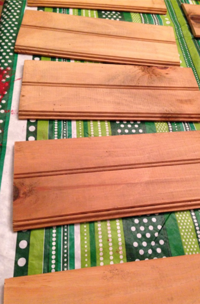 Ship Lap Pine Planking