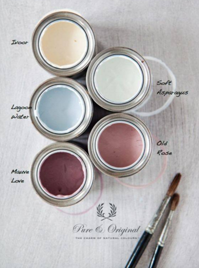 Pure & Original Paint Spring Palette