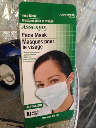 HR Sprayer Dollar Store Mask