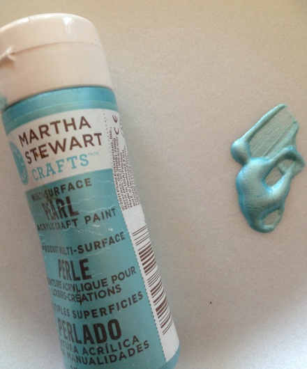 HR Sprayer Project Martha Stewart Metallic Paint