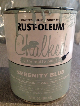 HR Sprayer Rustoleum Chalk Paint