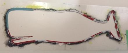 Whale Stencil