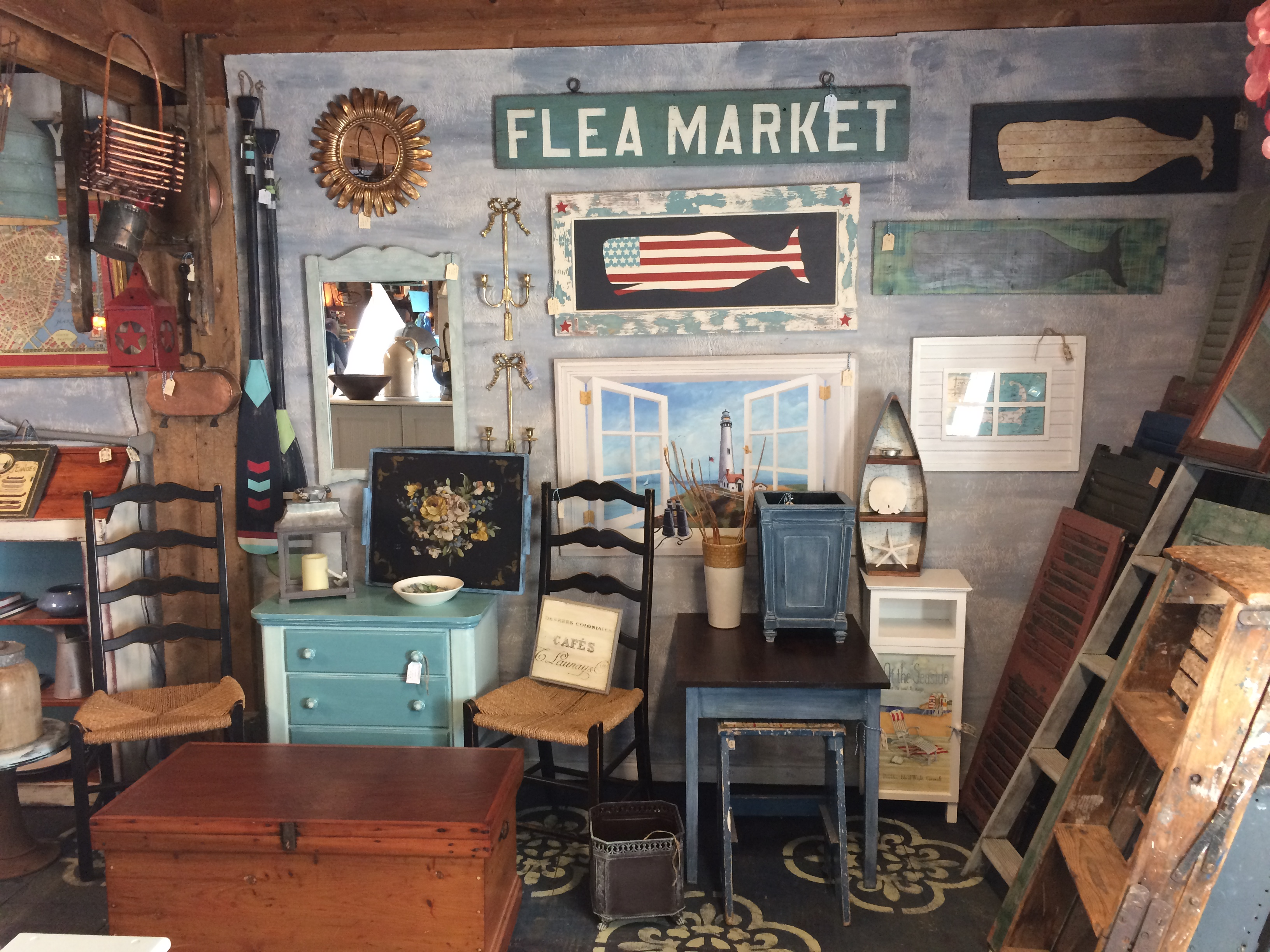 Barn Booth Back Wall Styled
