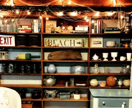 Barn Booth Bookcase Wall Lights