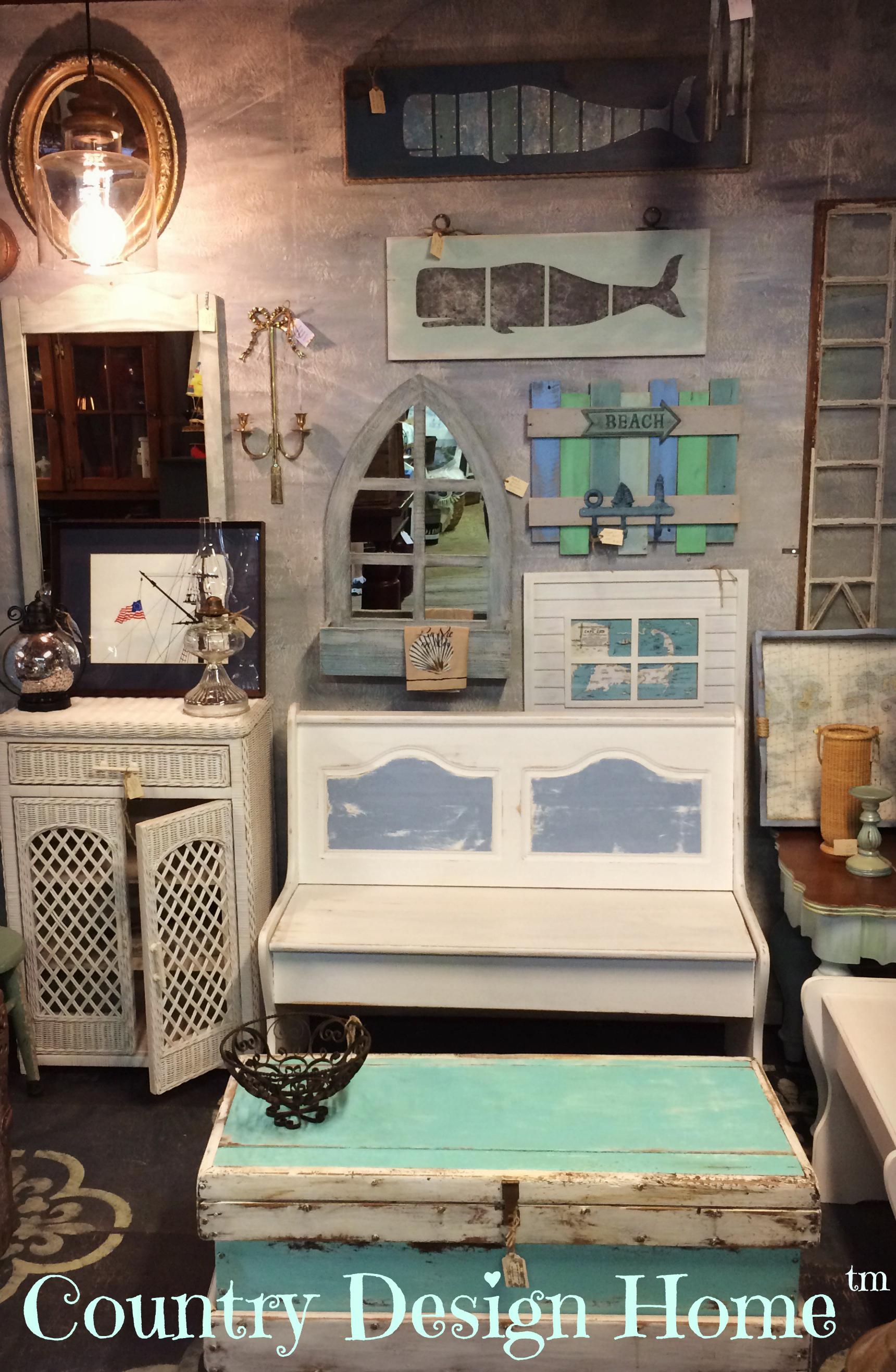 Beau Tin Whales Barn Vignette Country Design Home