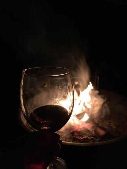 Huttopia Brandy by the Fire