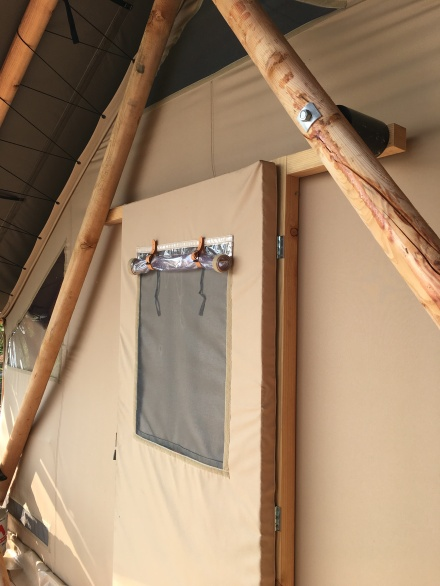 Huttopia Front Tent Door