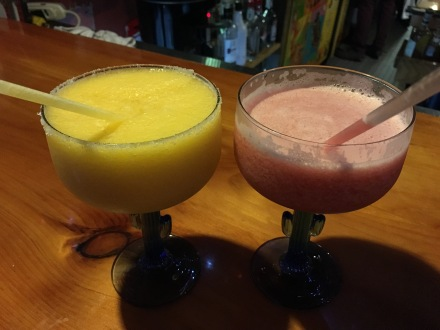 Mango and Raspberry Margaritas