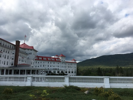 Mt. Washington Hotel Cloudy Sky