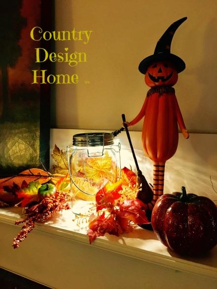 Sonnenglass Halloween Mantel PM