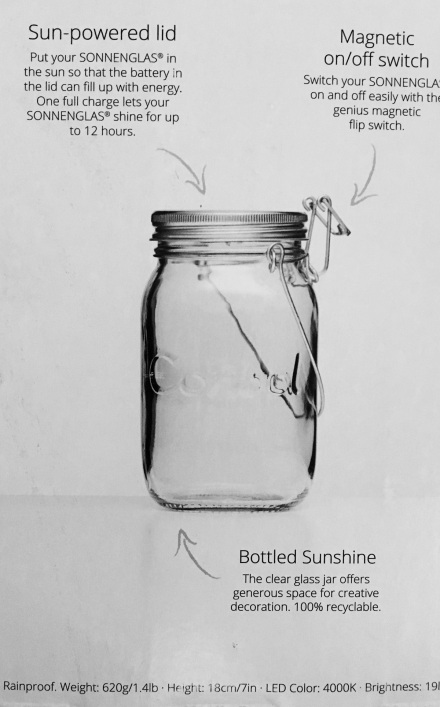 Sunshine Jar Details