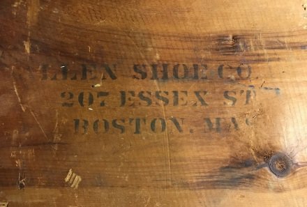 Allen Shoe Co Boston Crate