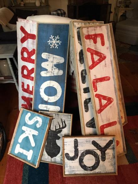 Holiday Signs Country Design Home
