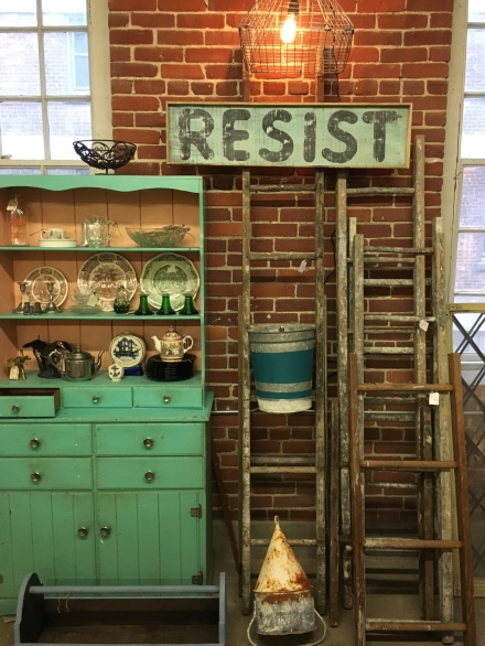 Mill Shop Aqua Cupboard