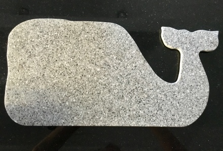 Granite Whale Cutting Board