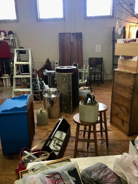 Hutchins Setting Up Shop