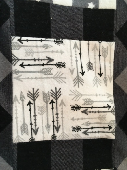 Arrow quilt fabric