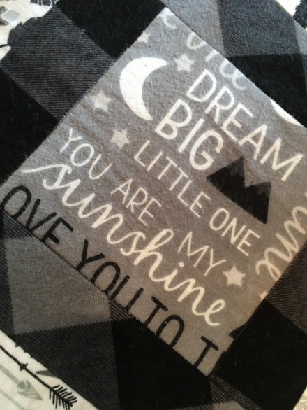 Dream Big little one fabric