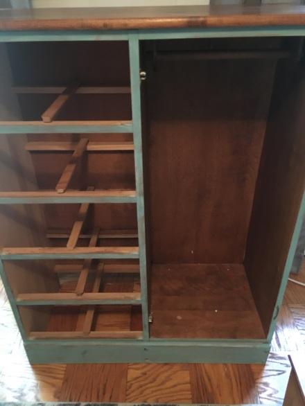 Dresser in Aqua