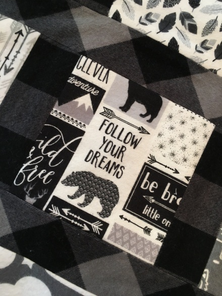Follow your dreams quilt fabric