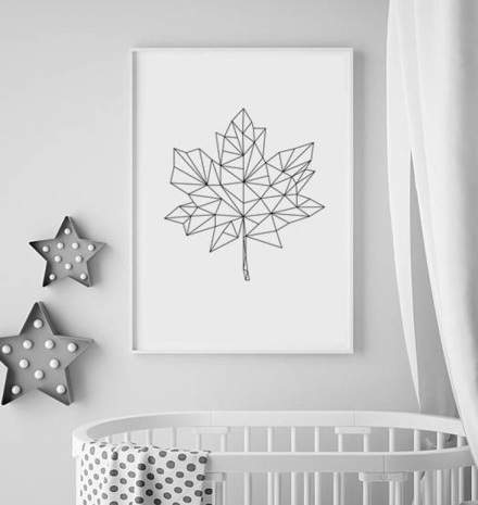 Maple Leaf Etsy