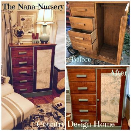 Nana Nursery Diaries Dresser