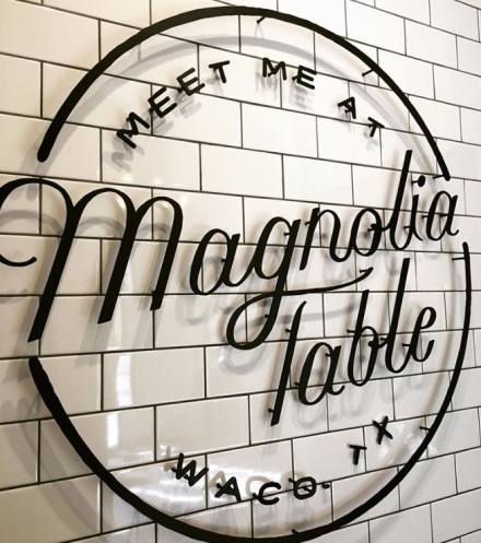 Magnolia Table Sign